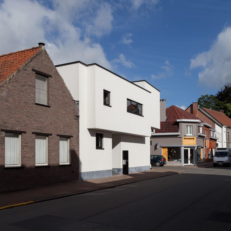nieuwbouw architect Zomergem