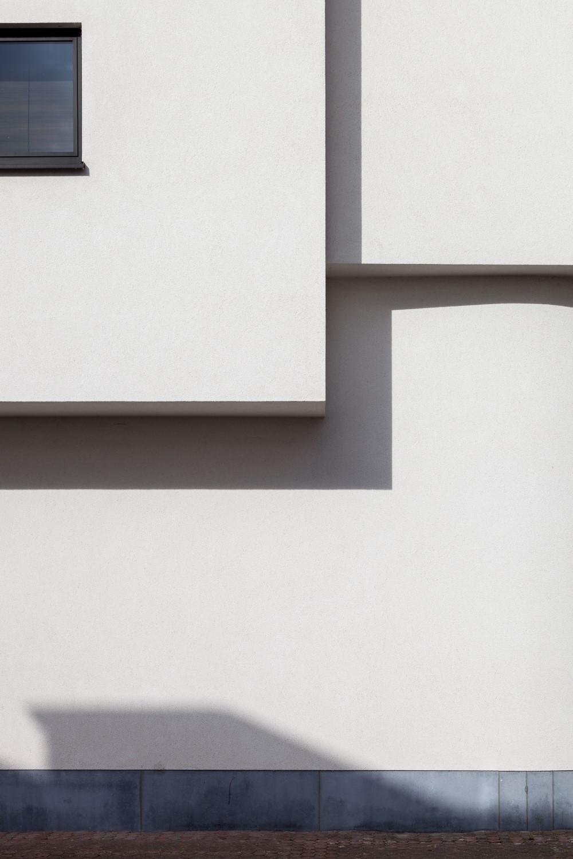 gevelbepleistering nieuwbouw volumespel