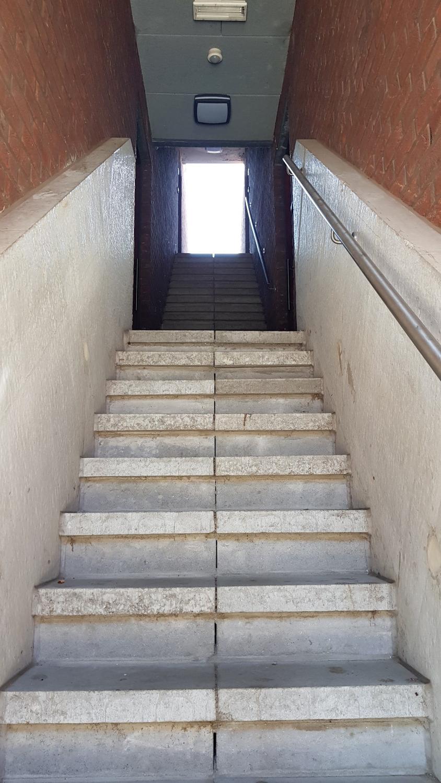 architect trap naar het licht